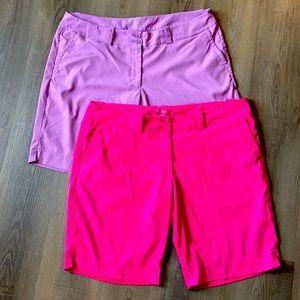 Nike Dri-Fit Tour Performance Golf Shorts Size 18